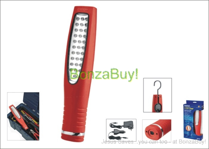 Inspection Light Cordless LED Narva 71312 Red 4hr 600 lumens 12/