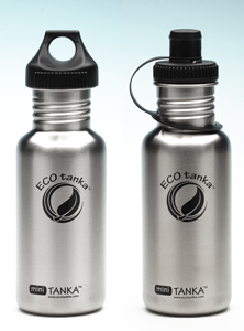 0600ml EcoTanka Stainless Steel Drink Bottle Water Safe MINI