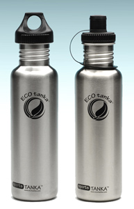 0800ml EcoTanka Stainless Steel Drink Bottle Water Safe SPORTS