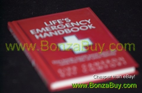 Life's Emergency Handbook medical advice hardcover