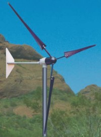 1000 Watt 12, 24, 36, 48V Whisper 200 Wind Turbine