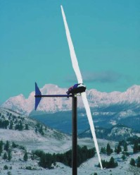 3000 Watt  24, 32, 48V Whisper 500 Wind Turbine